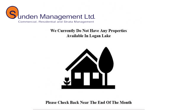 No properties available in Logan Lake